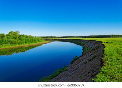 small river view