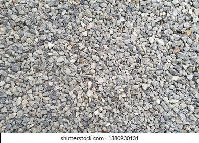 small road stone background, dark gravel pebbles stone texture seamless texture
