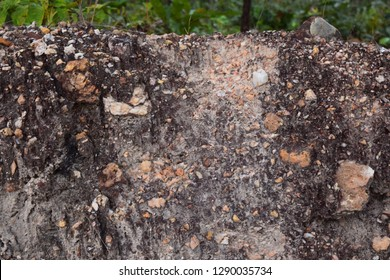 Small rock pile Together as rubbing him