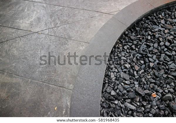 Small rocks background