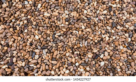 Small rocks or stone texture background.