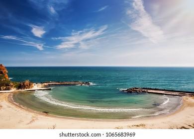 small ropical beach