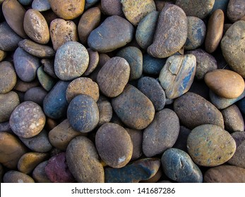 Small round rock background