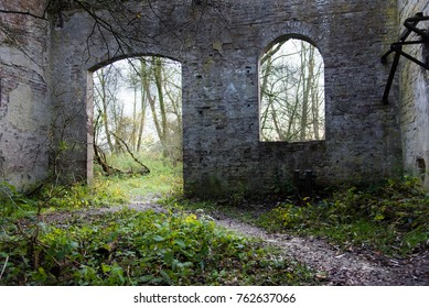 small ruin in the Netherlands