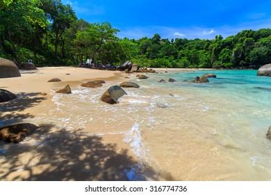 Small Sandy Beach at Lam Ru national park in Khao Lak - Shutterstock ID 316774736