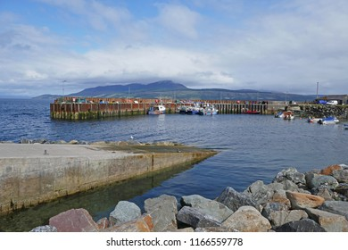 Small Scottish Fishing Harbour