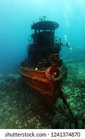 Small ship wreck