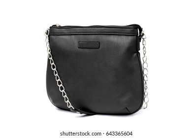 Small shoulder bag handbag purse isolated on white background