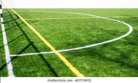 Small a side football field details