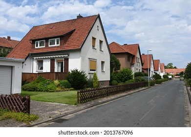 Small single-family houses from the German post-war period in Stadthagen