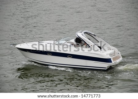Small Size Luxury Speed Boat Stock Photo (Edit Now) 14771773