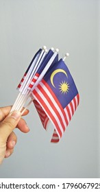 Small size malaysian flag for children for malaysia independence day.