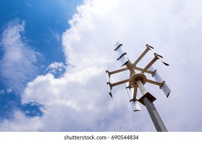 Vertical-axis Wind Turbine Images, Stock Photos & Vectors