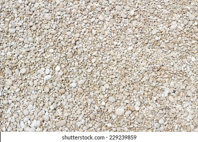 Small smooth pebbles texture background