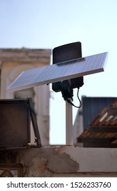 The small solar panel is suitable for small electricity usage.