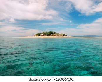 Small South Sea Island in Mamanuca Island group, Fiji. This group consists of about 20 islands.