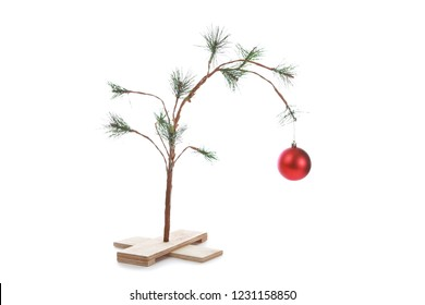 Small Sparse Christmas Tree