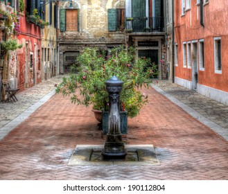 From a Small Square in Venice