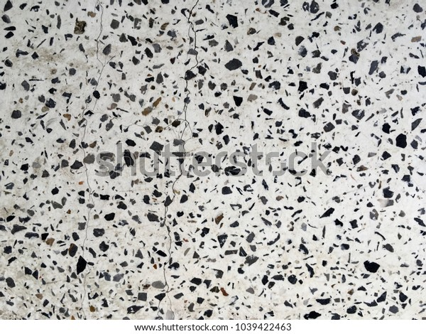 Small stone pebble floor surface texture