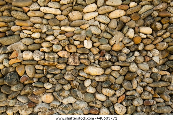 small stones lying on the floor background