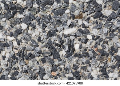 Small stones wall used for background texture