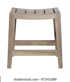 Small Stool in white background