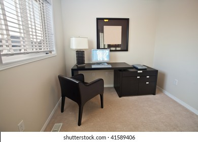 Small study area of a home
