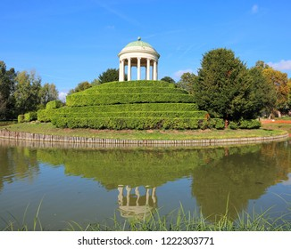 small temple of Parco Querini in Vicenza in Italy