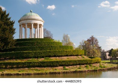 The small temple of Querini park in Vicenza, Italy