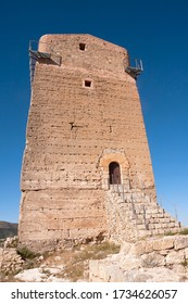 small tower castle in nerpio, spain
