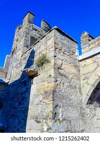 Small tower in Warwick Castle - Warwick, Warwickshire, United Kingdom on 21 October 2018