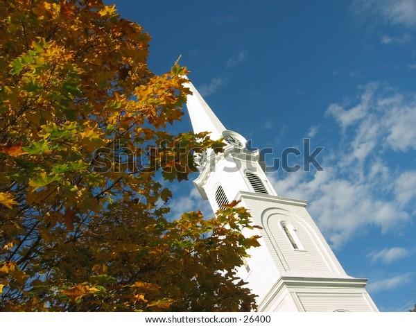 small town baptist church