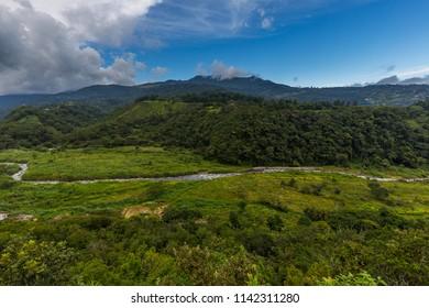 Small town of Boquete Panama