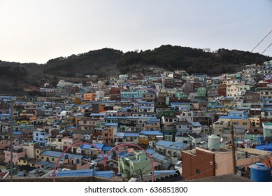 Small town in Busan