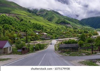 Small town in Chechnya, Russia