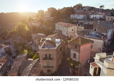 small town in Italy, Civitella San Paolo