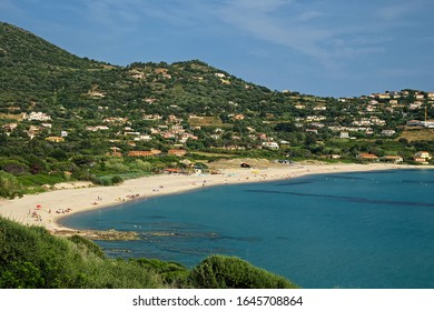 The small town of Cargèse with the wonderful beach of pero - Shutterstock ID 1645708864