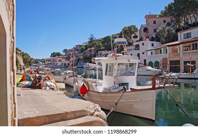 The small traditional fishing community of Cala Figuera on the east coast of Mallorca, Spain