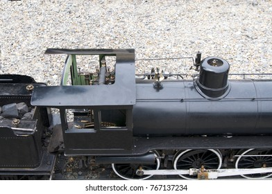 Small train and engine