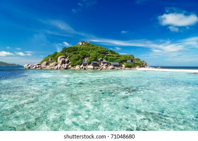 Small tropical island, Thailand