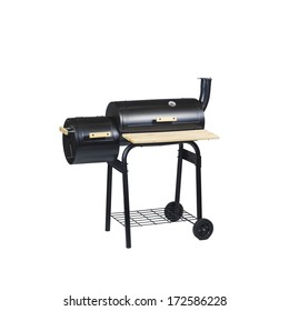 Small two-piece grill closed