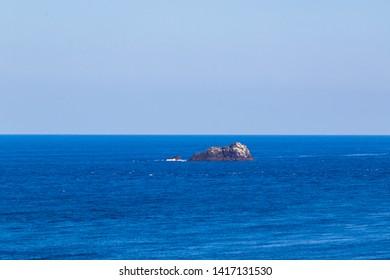 Small unmanned island in Amami Oshima, Kagoshima Prefecture, Japan