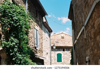 Small village in Ardeche, France
