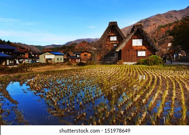 SMALL VILLAGE IN CENTRAL JAPAN