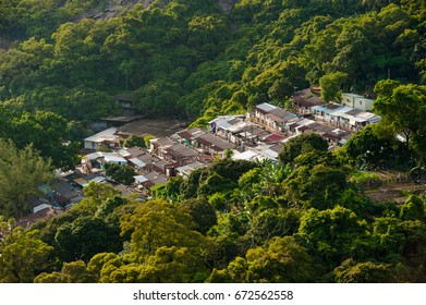 Small village in the forrest in Macau