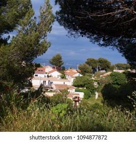 small village near the sea in Provence