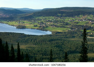 A small village in north Sweden