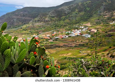 Small village on the mountainside