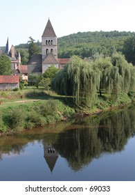 Small village in the South of France (Dordorgne)