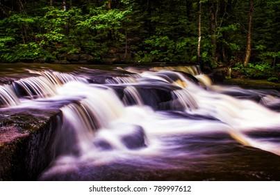 Small Water Falls Spring